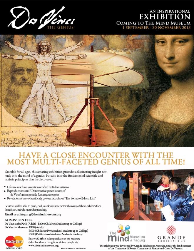 Da Vinci - The Genius Landing Page Poster