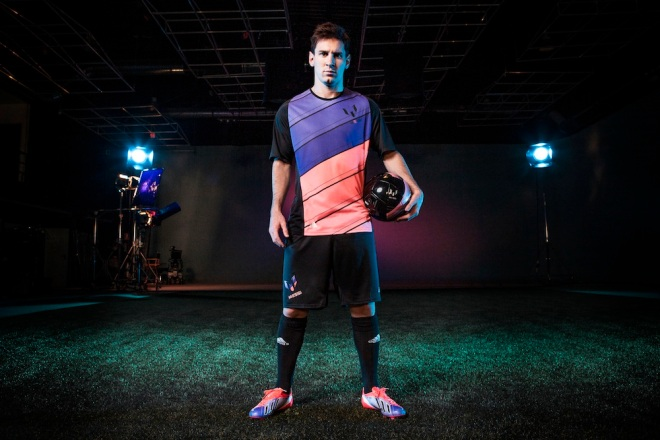 Lionel Messi in Barcelona for Adidas boot launch Produced by Iris Culture 16/5/13