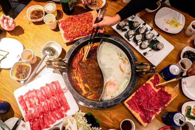 chongqing gaolao jiu hotpot