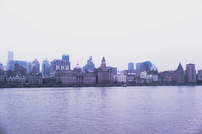view from bund cruise