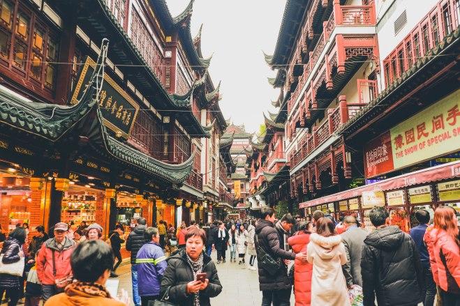 yu yuan shanghai china