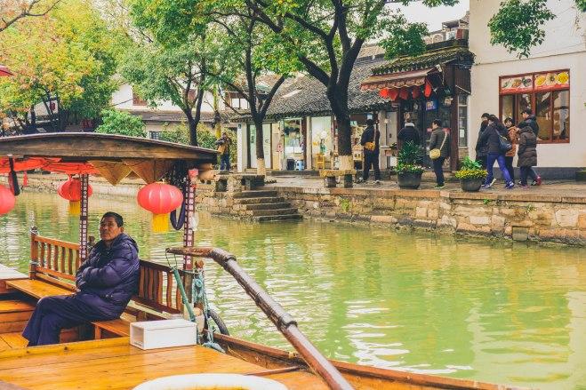 zhujiajiao shanghai china gondola